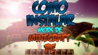Minecraft PE: Como Descargar E Instalar Mods En Minecraft