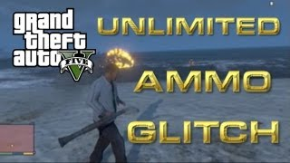 GTA 5 : WEAPON FIND UNLIMITED AMMO TRICK And FREE RPG