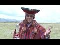 Alcalde de Chinchero realiza un mensaje en quechua