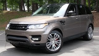 2015 Range Rover Sport Supercharged Start Up, Road Test, and In Depth Review - Duration: 32:56.