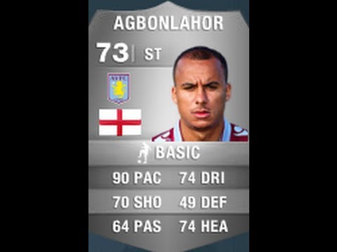 FIFA 14 AGBONLAHOR 73 Player Review & In Game Stats Ultimate Team