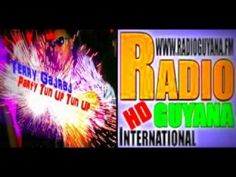 Terry Gajraj - Party Tun Up  Interview on Radio Guyana International W/ DJ 3rd Degree 11-24-13