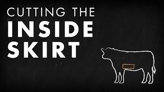 Beef Butchery - Cutting the Inside Skirt