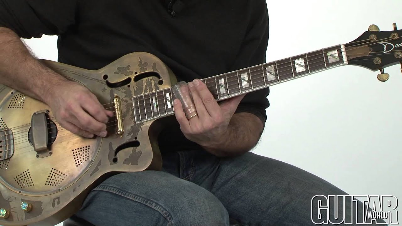 Slide Guitar in Standard Tuning with Andy Aledort - YouTube