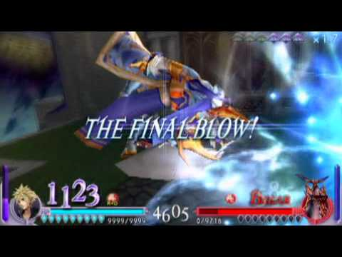 Dissidia: Final Fantasy - Cloud vs All Villains