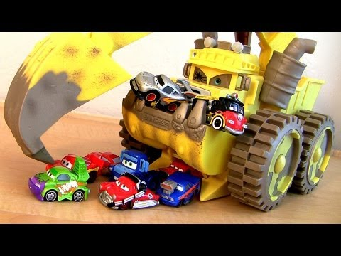 Monster Screaming Banshee Eating Wingo Snot Rod Mini CARS Lightning McQueen Mater Disney Pixar