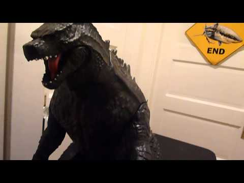 Jakks Pacific Giant Size Godzilla 2014 Figure Review