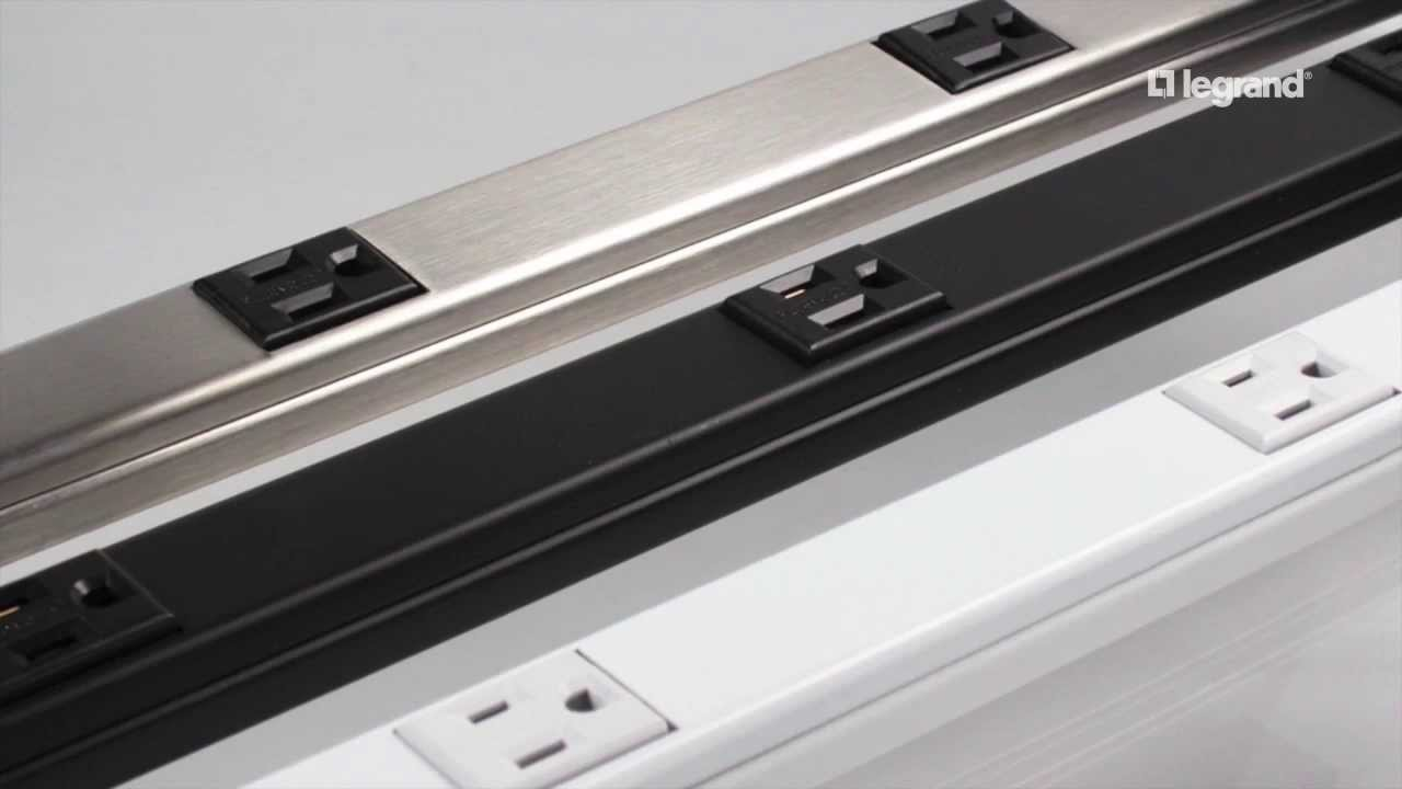 ... Under Cabinet Plug Mold Strip By Wiremold Experience The Plugmold Multi  Outlet System ...