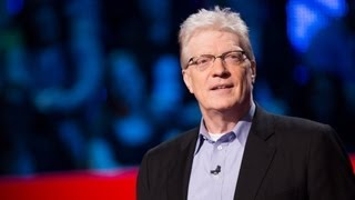 Sir Ken Robinson outlines 3 principles crucial for the human mind to flourish -- and how current educatio