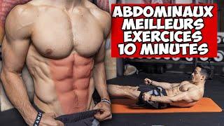 ABDOMINAUX MEILLEURS EXERCICES 10 MINUTES !