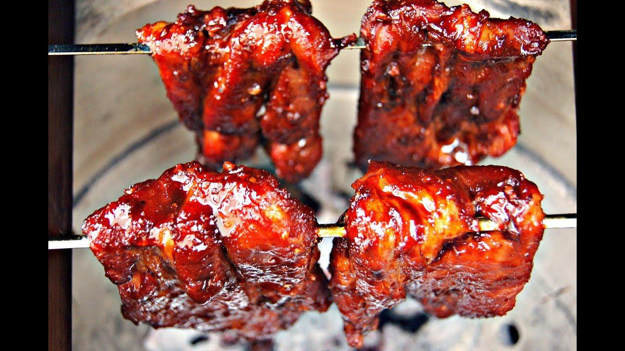 How To make Char Siu - Chinese Barbecued Pork Recipe - 叉燒 ...