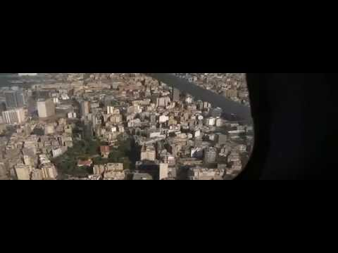 Flying the cessna 172 over Lebanon Beirut  Watch in HD