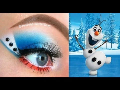 Disney's Frozen: Olaf Inspired Makeup Tutorial