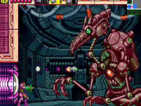 Metroid zero mission final boss mecha ridley youtube
