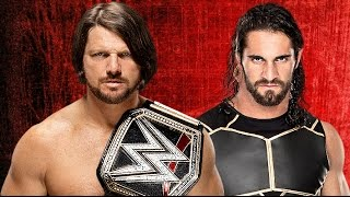 AJ Styles vs Seth Rollins Wrestlemania 33 Promo HD