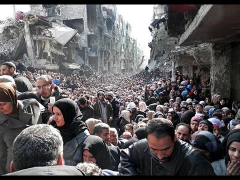 Yarmouk Refugee Camp Dont Mention Palestinians on BBC