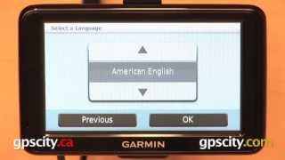 Garmin Nuvi 2455LMT: Using For The First Time With GPS