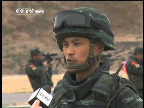 A close look at China's top anti terror squad