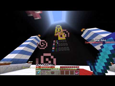 Minecraft Cake Defense II - 2 of 2 - *SOLO* Last wave! + Early game strategy tips!
