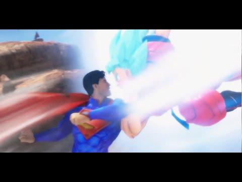 Songoku vs Superman 2 . Songoku đánh nhau biệt tử với Superman. Xem ai thắng :)