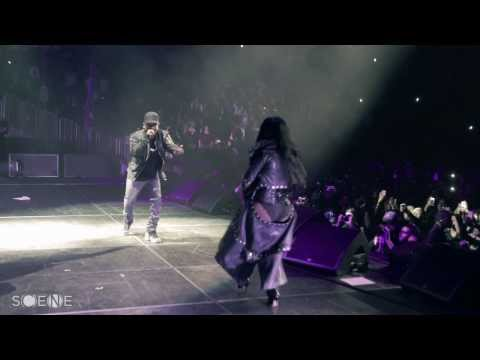 Kendrick Lamar Brings Out Lil Kim At Barclays Center
