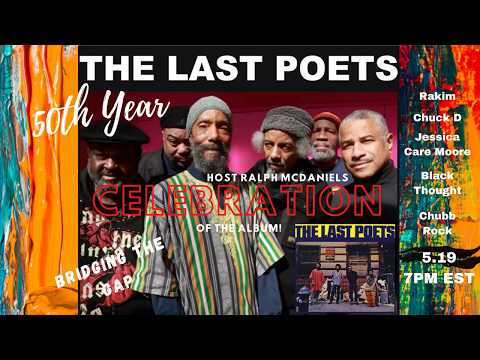 THE LAST POETS | Album 50th Anniversary Celebration