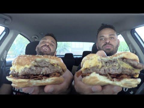 Eating Five Guys Hamburger's