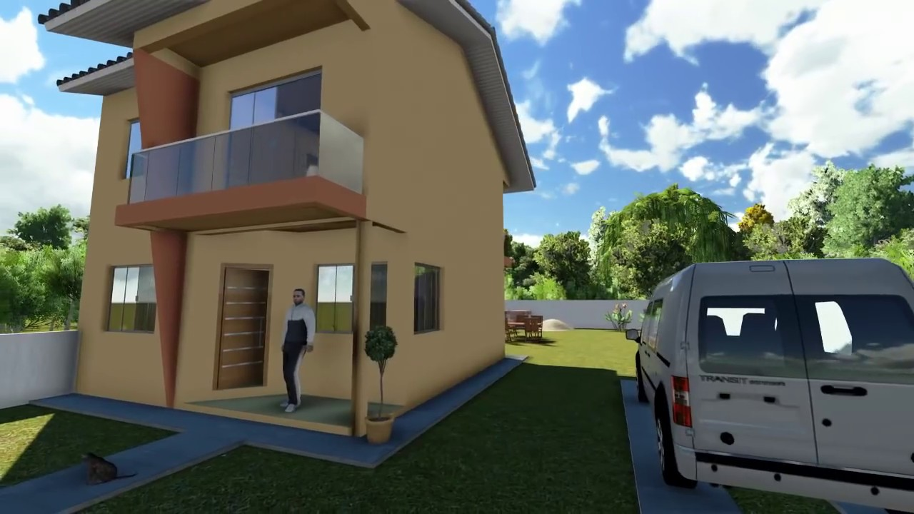 Projetos de casas modelo de uma casa pequena youtube for Modelos de parrillas para casas pequenas