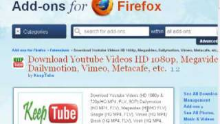 Come Scaricare Video Da Youtube Con Firefox