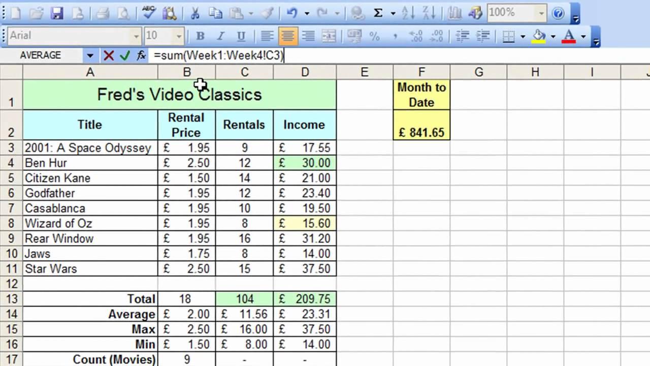 Microsoft Excel Tutorial for Beginners #33 - Worksheets Pt ...