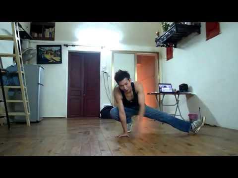 Lý Hải dạy nhảy hiphop hay quá !!!