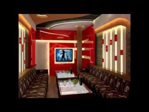 trang trí, thiết kế, cách âm cho phòng karaoke gia đình, phòng hát, phòng thu