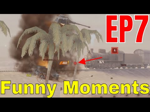 »World of tanks blitz -Funny Moments and fails EP7 (2019)😂💣