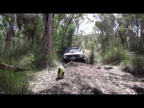 Mundaring Bush Bog Hole Rodeo Winch out