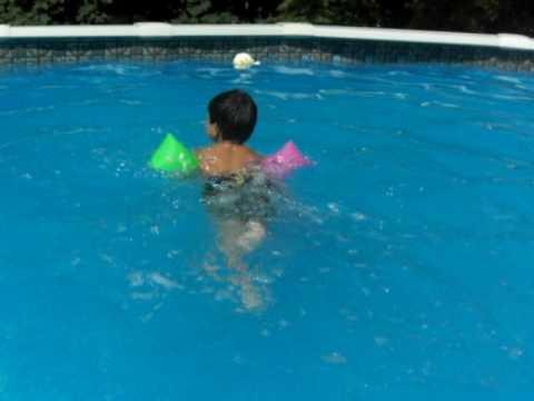 estilo perrito piscina