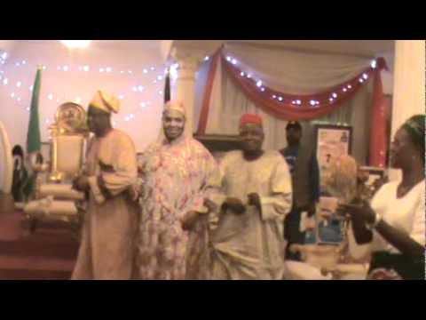 Cultural Troupe Entertaining the Esama during his 77th Birthday