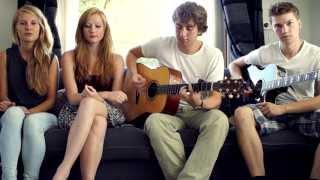 Wake Me Up --(Cover by Carlijn & Merle) ft. Kjelt and Tom @CarlijnandMerle