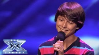 """Stone Martin - Little Guy Rocks """"Little Things"""" - THE X FACTOR USA 2013"""