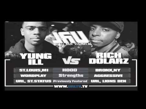 SMACK / URL PRESENTS YUNG ILL VS RICH DOLARZ