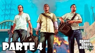 Grand Theft Auto 5 Gameplay Walkthrough Parte 4 Español