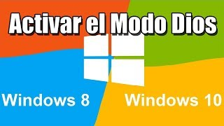 Acceder Al Modo Dios En Windows 8 (god Mode)