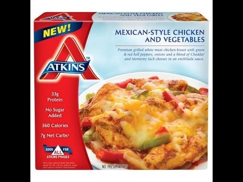 Atkins Diet Product Reviews: Mexican Chicken with Vegetables Frozen Food