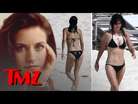 Courteney Cox In A Bikini  -- 50 And Dead Sexy!!!