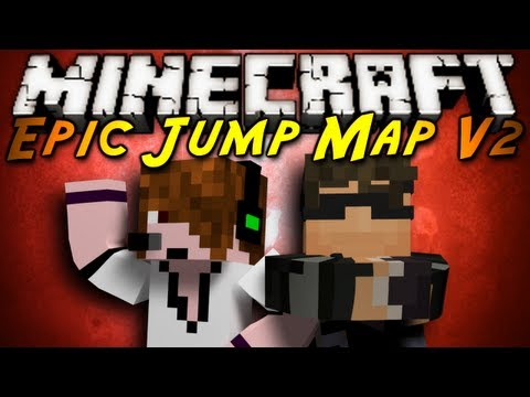 Minecraft: Epic Jump Map V2 Part 1!