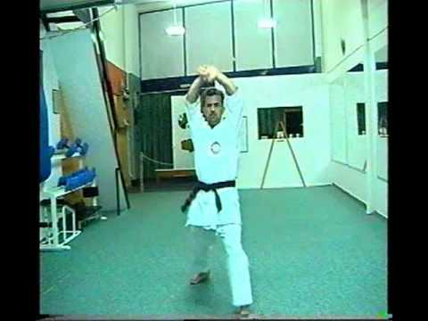 KATA - KIBA DACHI - OKINAWA TE TAI KARATE DO.mpg