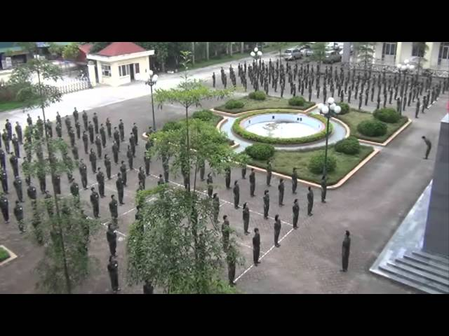 Một buổi thể dục cuối giờ của trung tâm ngoại ngữ Hải Phong