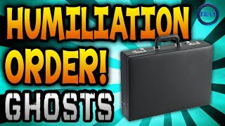 "COD: Ghosts ""HUMILIATION"" FIELD ORDER Explained! (Call"