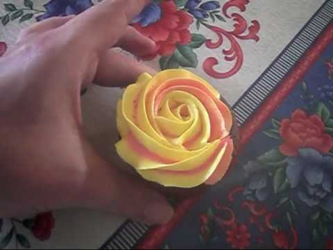 two toned buttercream tutorial