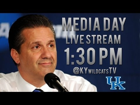 Kentucky Wildcats TV: Coach Calipari 2013 Media Day Press Conference