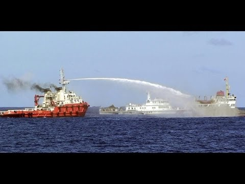 Chinese Ships Ram Vietnam Vessels, Blast Them With Water Canon Near Oil Rig!